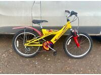 Boys Raleigh mountain bike 20'' wheels £45