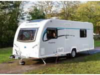 2014 Bailey pursuit 550/4 fixed single beds