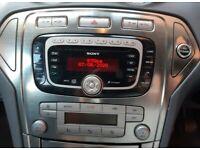 Car stereo sony cd radio mp3 ford