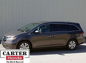 2015 Honda Odyssey EX-L w/RES + 8 SEATS + LEATHER + CERTIFIED!