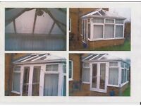 Conservatory For Sale - Already Dismantled - 3.05 x 3.05 x 3.05 Metres