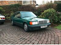 Classic Mercedes 190 2.0 Auto. 1989 F Reg.
