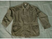 Rare - Olive Drab, Serbian Army Field Jacket, (super grade next to new)