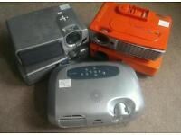 5x Projectors / Sanyo, Epson, HP