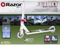 Razor Pro X Scooter. Boxed brand new