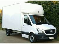 MERCEDES SPRINTER LUTON ONLY 77K FACE LIFT MODEL 2013 TAIL LIFT FSH FORD TRANSIT IVECO DAILY