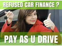 REFUSED CAR FINANCE ? TAKE A LOOK AT THIS... PAY AS YOU DRIVE FROM £15 A WEEK NO DEPOSIT