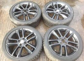 Vauxhall Corsa D Limited Edition 4 Stud 17 Inch Alloys.