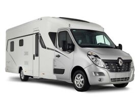 LUNAR CASSINI TI LHD FIXED REAR BED NEW ON RENAULT MASTER 2.3 130PS