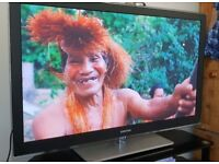 Selling 50inch plasma 1080p Samsung tv. WhatHiFi winner with remote!
