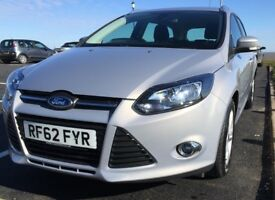 Ford Focus ZETEC Estate Petrol 1.0 (125 bhp) manual 6-speed £30 road tax