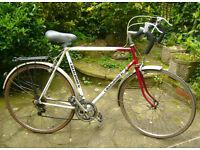 "Mens MARLBORO Racing BIKE Bicycle 24"" FRAME Good Condition"