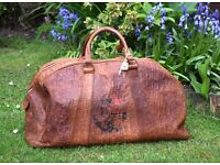 Ford Sherington Australia,cowhide bags,cowhide handbags,over night bag,holdall,weekend bag,leather
