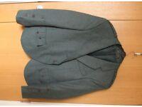 Argyll kilt jacket, green tweed