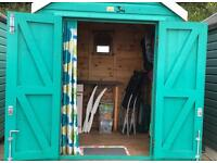 Beach Hut. Long/Short Term from £50pw. Bournemouth Pier / East Cliff ZigZag (under Russell Cotes).