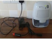 Mini Compact Dehumidifier with 500 ml tank