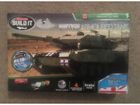 British armoured tank – build it model