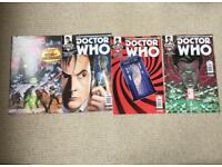 Selection of Doctor Who Comic Books