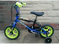 "Child's 12"" BMX with Stabilisers 3-5yrs"