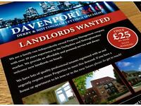 LANDLORDS URGENTLY WANTED