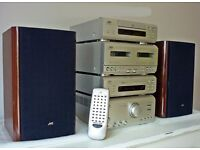 JVC F3000R Digi Fine Compct System. HX Pro