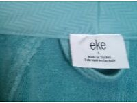 NEW - Luxury Authentic Turkish Robe, Substantial Spa Quality Item, Size L