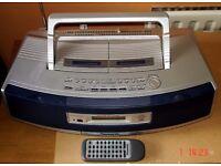 Panasonic RX-ED50 CD, Radio, Cassette player/recorder