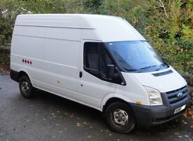 FORD TRANSIT MK7 LWB 115 2.4td , 93k , NO VAT , cheap tax, 6 speed, 12 month MOT