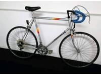 Original Vintage Retro Peugeot 1980's Premiere Road Racer City Bike Bicycle Carbolite New Tyres!!!