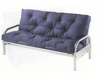 Double metal futon/sofa bed, Perfect for spare room/guests,*Price open to offers*