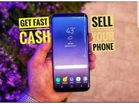 faulty Samsung s7/8/9 Wanted   Cash 24H