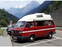 Volkswagen (VW) Campervan T25 Autohomes Komet