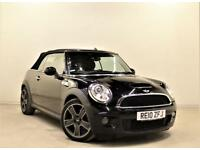 MINI CONVERTIBLE 1.6 COOPER S 2d 184 BHP + 1 PREV OWNER + SH + AUX + MP3/CD (black) 2010