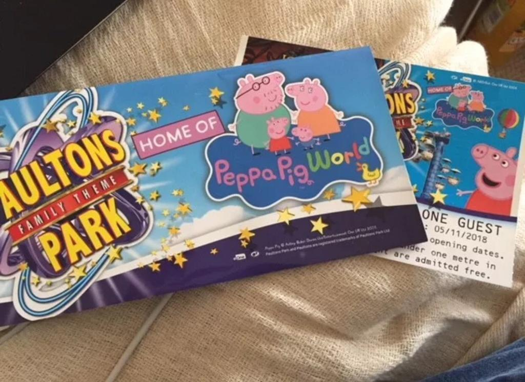 1 X Ticket For Paulton Park Peppa Pig World Included In Lindfield West Sussex Gumtree