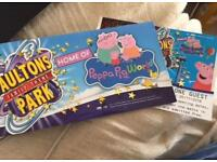 1 x Ticket for Paulton Park (Peppa Pig World included)