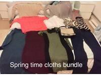 Spring time bundle+ fiorrili bag excellent condition