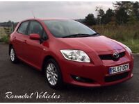 NOW REDUCED!! Toyota Auris 1.6 TR RED, history, FRESH 12 month mot, LOVELY LITTLE HATCH, VERY CLEAN