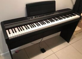 KORG SP 170S BK , Amazing Digital Piano Keyboard with 88 Notes Natural Weighted Hammer Action.