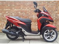 Yamaha Trinity 125, As new condition with ONLY 79 miles