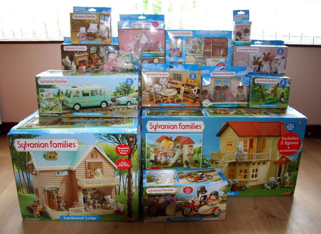 Sylvanian families collection in portstewart county for Sylvanian classic furniture set