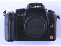 Panasonic Lumix DMC-GH2 Mirrorless Micro Four Thirds M43 Digital Camera body
