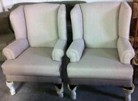 Beautiful Order Wing Chair with the fabric you want Price $340