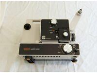 Eumig Mark 610D Super 8 Projector + Sankyo Super MF 606 Cine Camera