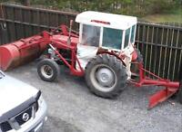 tracteur masse forgusson