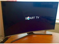"CURVED 40"" SAMSUNG SMART -FREEVIEW HD - WIFI -800hz- LED TV - WARRANTY"