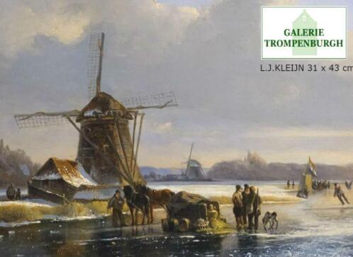 Wonderlijk ≥ Schilderijen 19e, 20e eeuw. Romantiek en Haagse School - Kunst IT-35