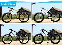 """Back in Stock Brand New Fatbike 26"""" 7 speed gears FOR SALE !!!"""