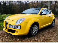 Stunning Alfa Romeo mito low mileage in great condition new mot