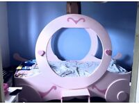 Handmade one off princess carriage bed