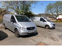 Mercedes Vito panel van insulated with refrigeration unit